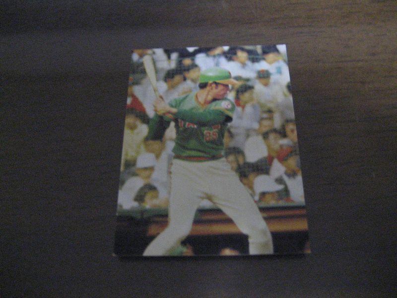 カルビープロ野球カード1974年/N...